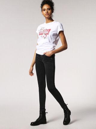 SLANDY 0680I, Black Jeans