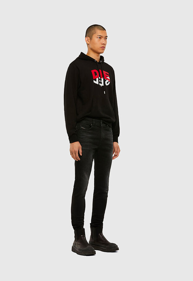 D-Amny 0092B, Black/Dark grey - Jeans