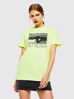 T-DIEGO-J4, Yellow Fluo - T-Shirts
