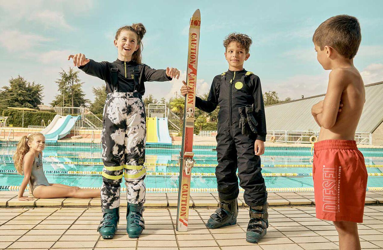 PJFRIZ-SKI, White/Black - Ski wear