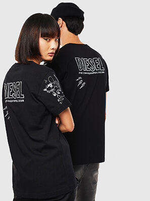 CL-T-DIEGO-3, Black - T-Shirts