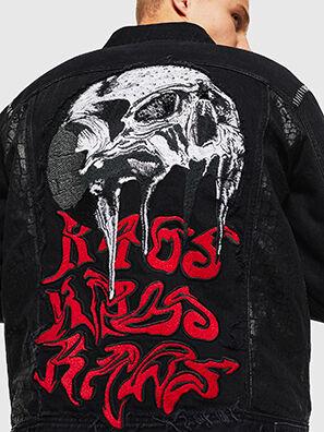 NHILL-SXY1, Black - Denim Jackets