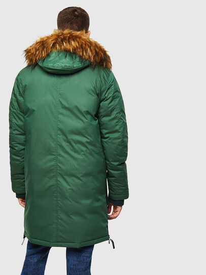 Diesel - W-BULLISK, Dark Green - Winter Jackets - Image 2