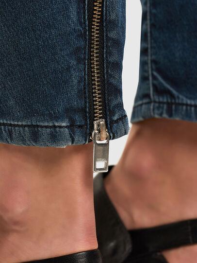 Diesel - Fayza JoggJeans 069PQ, Dark Blue - Jeans - Image 5