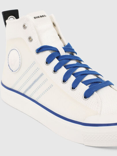 Diesel - S-ASTICO MC H, White/Blue - Sneakers - Image 4
