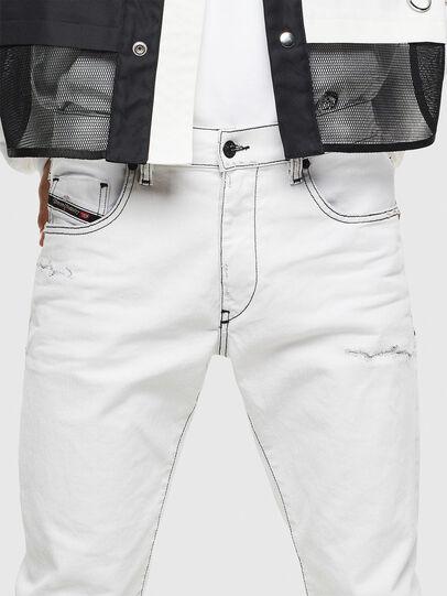 Diesel - D-Strukt 003Z1, White - Jeans - Image 4