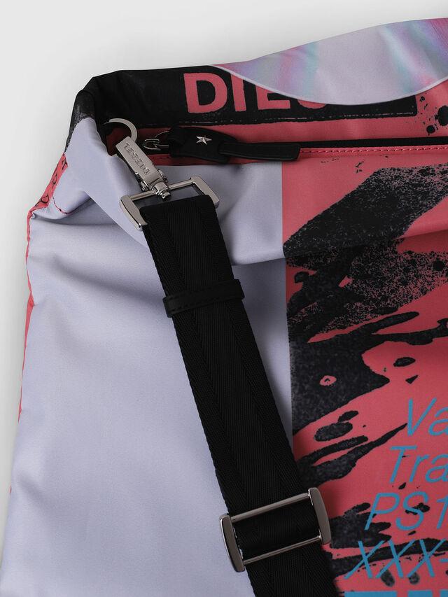 Diesel - F-LITT SHOPPER EW, White/Pink - Shopping and Shoulder Bags - Image 3