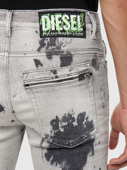 Diesel - D-Amny 009GM, Light Grey - Jeans - Image 4