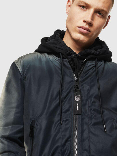 Diesel - J-FOREST, Black - Jackets - Image 5