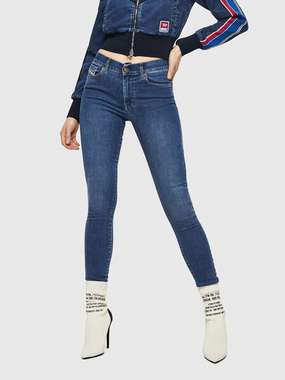 Diesel - D-Roisin 085AB, Medium blue - Jeans - Image 1