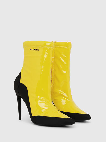 Diesel - D-SLANTY ABH, Yellow - Ankle Boots - Image 2