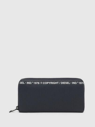 Diesel - 24 ZIP, Dark Blue - Zip-Round Wallets - Image 1