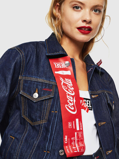 Diesel - CC-NHILL-W, Dark Blue - Denim Jackets - Image 5