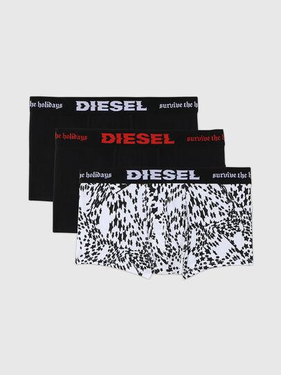 Diesel - UMBX-DAMIENTHREEPACK, Black/White - Trunks - Image 1