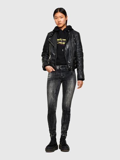 Diesel - D-Jevel 009PX, Black/Dark grey - Jeans - Image 6
