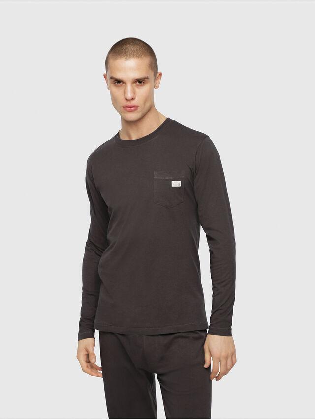 Diesel - UMLT-JUSTIN, Dark grey - T-Shirts - Image 1