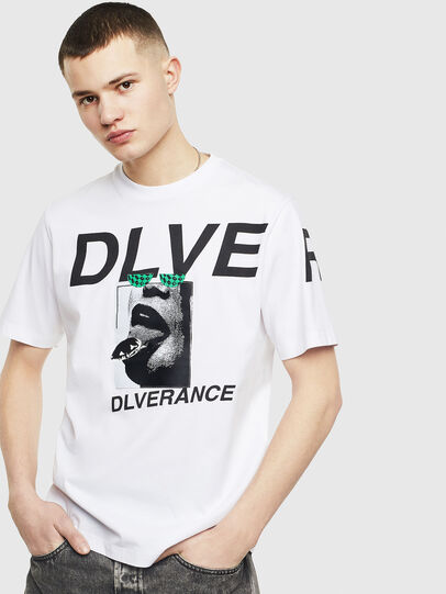 Diesel - T-JUST-T21, White - T-Shirts - Image 1