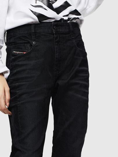 Diesel - Fayza 0091I, Black/Dark grey - Jeans - Image 3