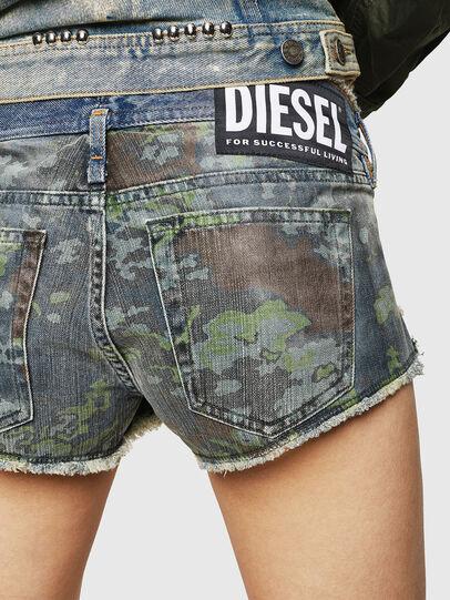 Diesel - DE-MARLEN, Medium blue - Shorts - Image 4