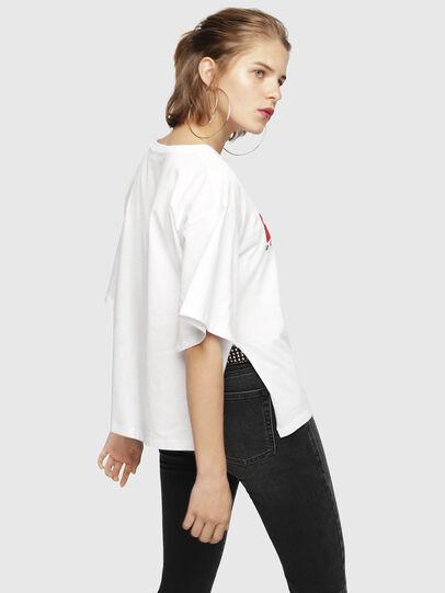 Diesel - T-JACKY-D, White - T-Shirts - Image 2