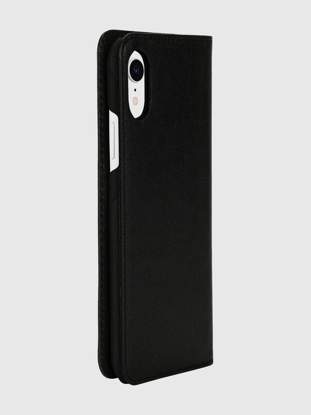 Diesel - DIESEL 2-IN-1 FOLIO CASE FOR IPHONE XR, Black/White - Flip covers - Image 4