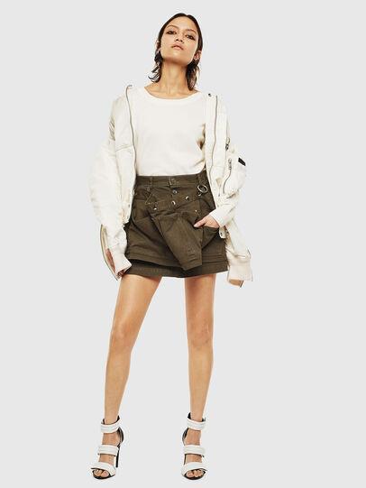 Diesel - M-PERLA-A, White - Knitwear - Image 8