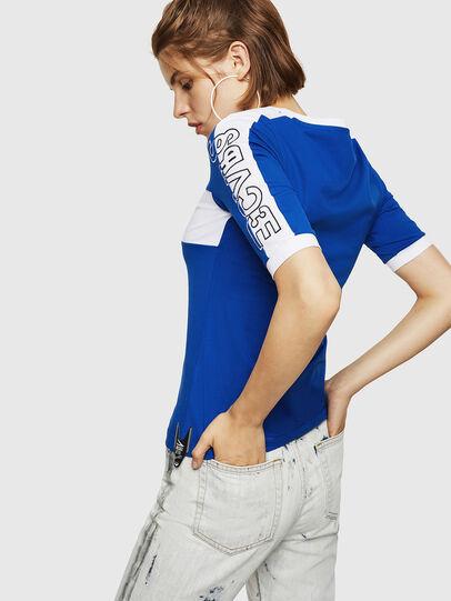 Diesel - T-HEIA-B, Brilliant Blue - T-Shirts - Image 2