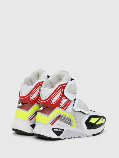 Diesel - ASTARS-SKBOOT, White - Sneakers - Image 3