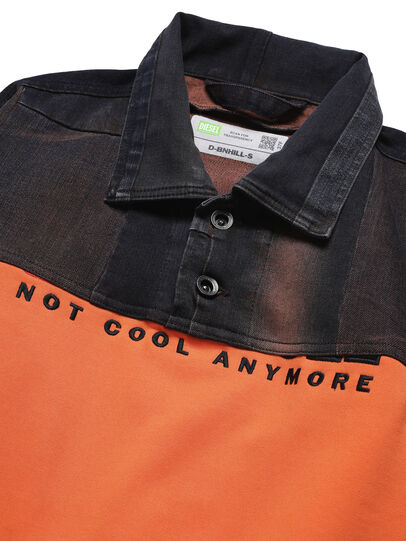Diesel - D-BNHILL-S, Orange - Sweaters - Image 3