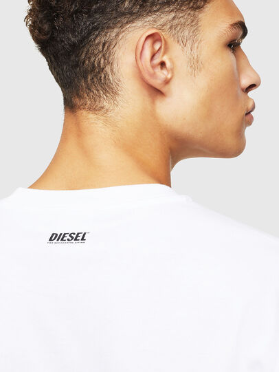 Diesel - T-JUST-J9, White - T-Shirts - Image 4