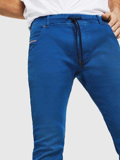 Diesel - Krooley JoggJeans 0670M, Brilliant Blue - Jeans - Image 3