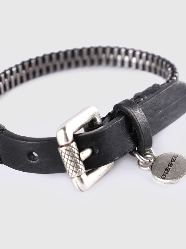 Diesel - A-ZIPPER, Black/Silver - Bijoux and Gadgets - Image 2