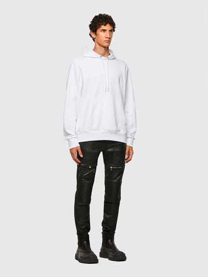 Diesel - S-GIRPO-HOOD, White - Sweaters - Image 5