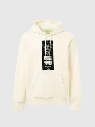 S-GIRK-HOOD-N3, White - Sweaters