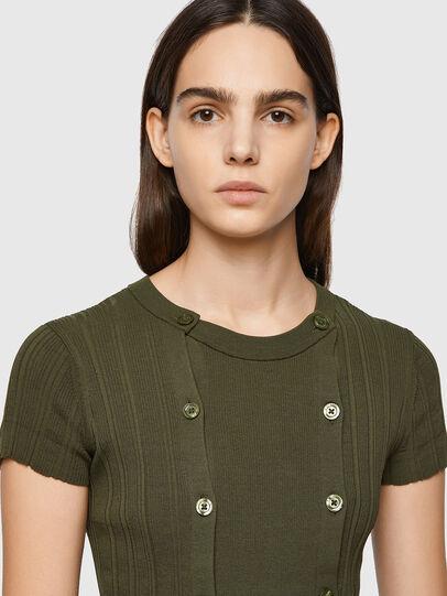 Diesel - M-FLORIDA, Olive Green - Knitwear - Image 3