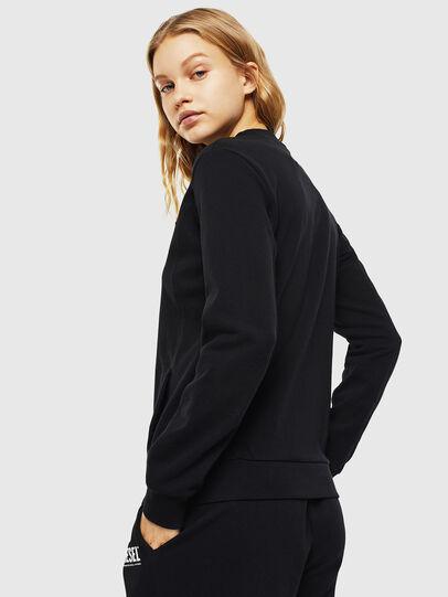 Diesel - UFLT-VICTORIAL, Black - Sweaters - Image 2