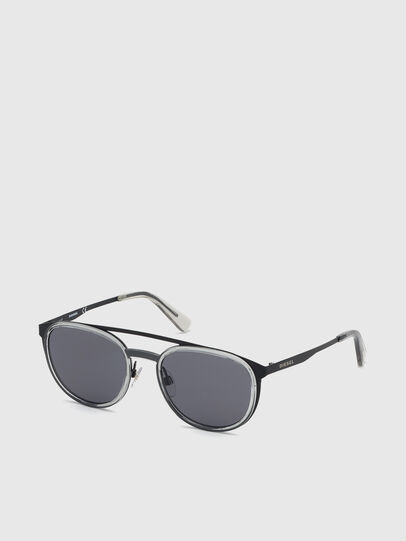 Diesel - DL0293, Black/Grey - Sunglasses - Image 2