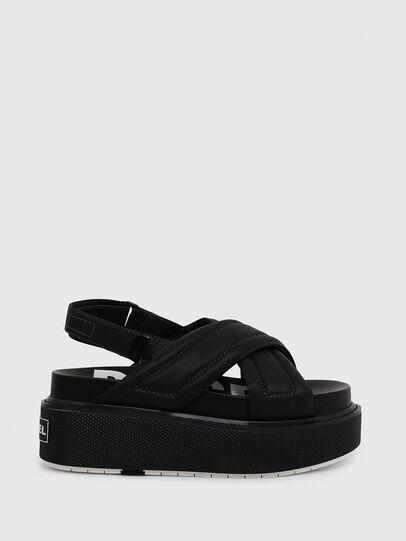 Diesel - SA-SCIROCCO XR, Black - Sandals - Image 1