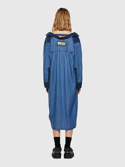 Diesel - DE-NIAVY, Light Blue - Dresses - Image 7