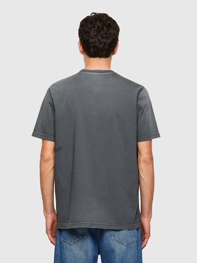 Diesel - T-JUST-B64, Grey - T-Shirts - Image 2