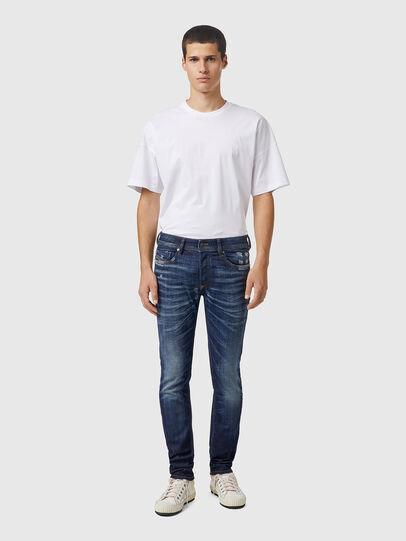 Diesel - Sleenker 09A85, Dark Blue - Jeans - Image 5