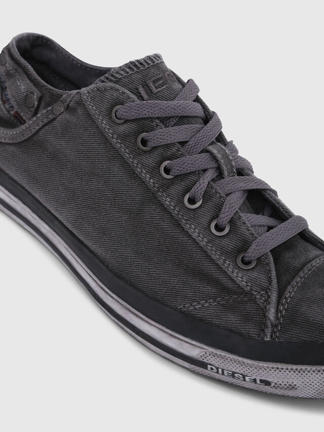 Diesel - EXPOSURE LOW I, Metal Grey - Sneakers - Image 5
