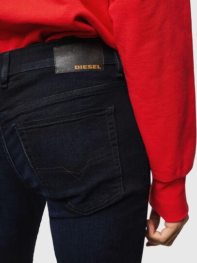 Diesel - Sleenker 0095X, Dark Blue - Jeans - Image 4