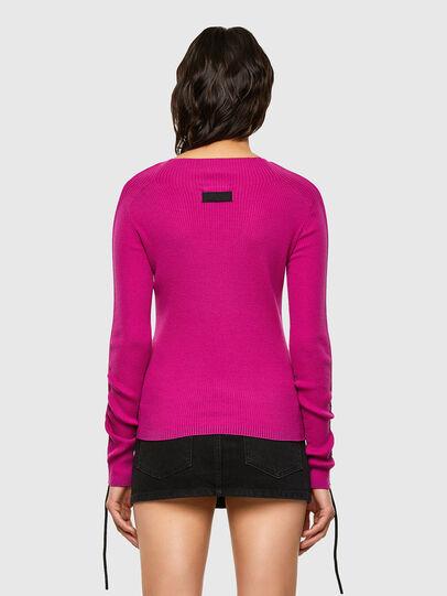 Diesel - M-JULIA, Hot pink - Knitwear - Image 2
