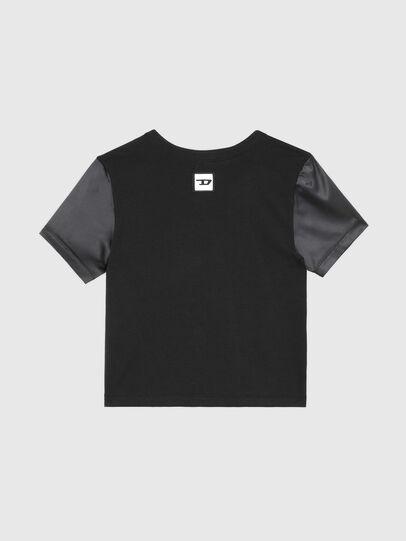 Diesel - UFTEE-ROUNDIE-SAT, Black - T-Shirts - Image 2