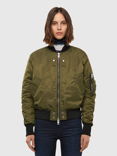 Diesel - W-SWING, Military Green - Winter Jackets - Image 1