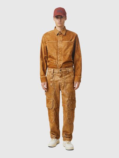 Diesel - D-Multy JoggJeans® 0AFAT, Light Brown - Jeans - Image 5