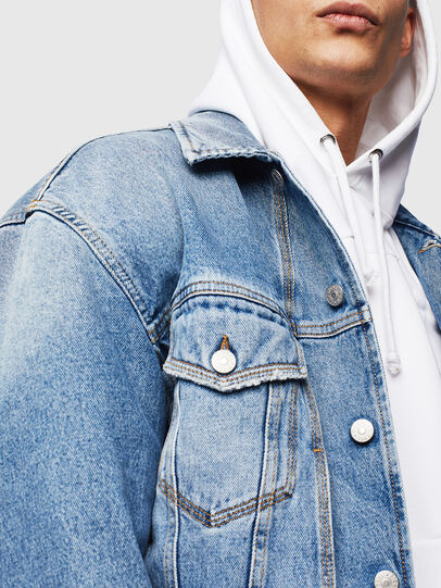 Diesel - D-BRISTY, Light Blue - Denim Jackets - Image 3