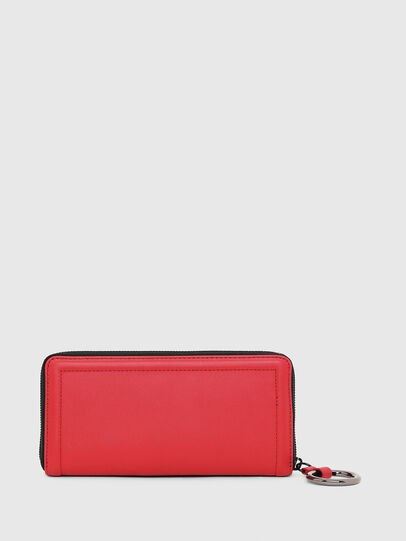Diesel - GRANATO LC, Fire Red - Zip-Round Wallets - Image 2