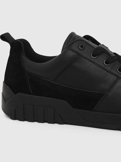 Diesel - S-RUA LOW, Black - Sneakers - Image 4